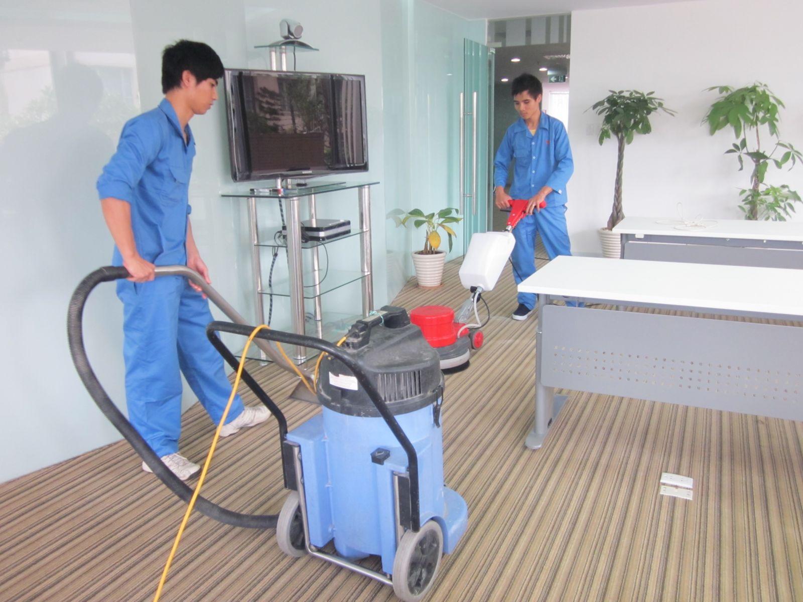 vệ sinh công nghiệp theo giờ