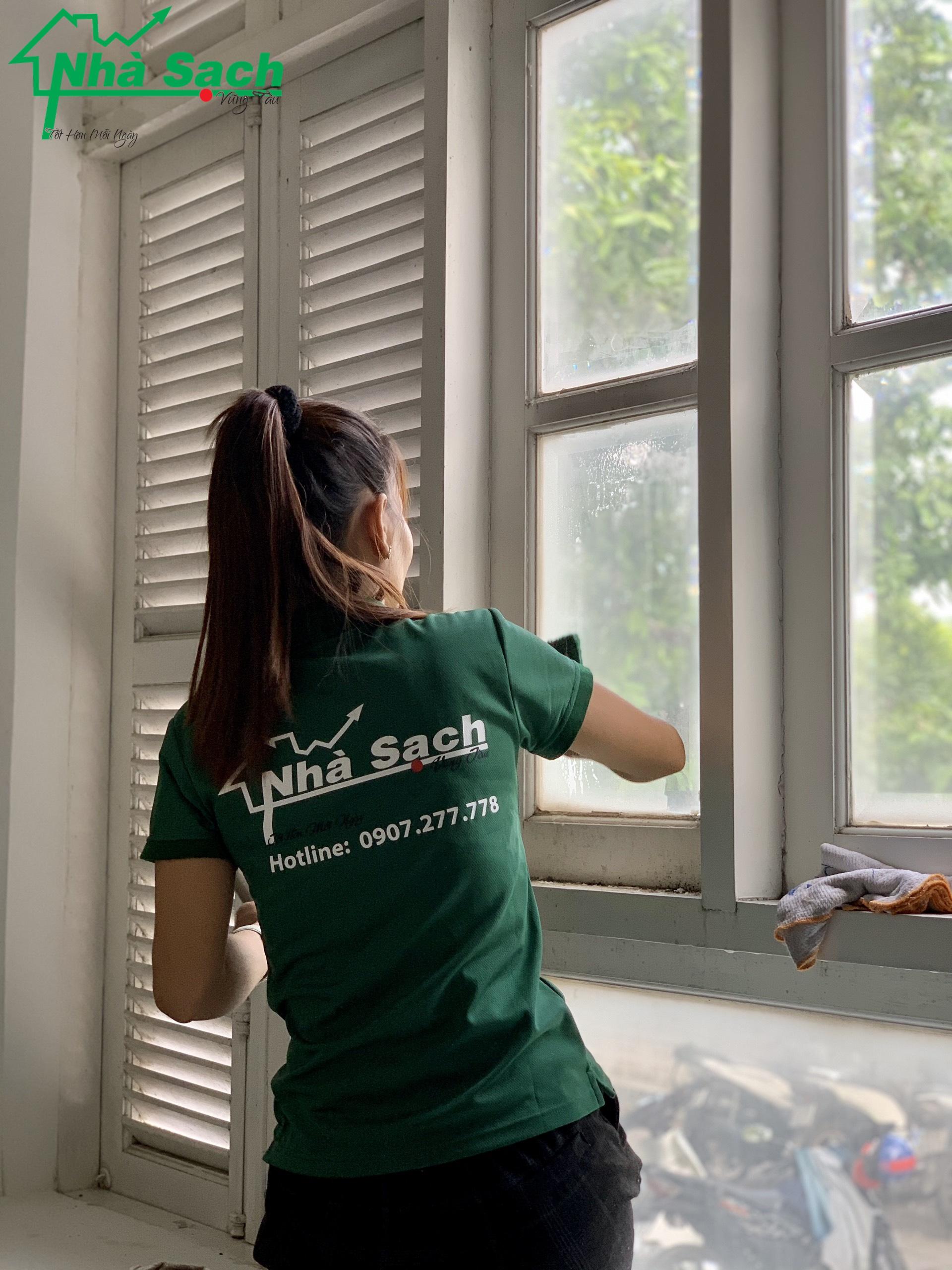 Tổng Vệ Sinh Công Nghiệp tổng vệ sinh nhà sau xây dựng